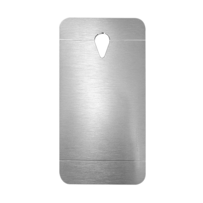 Motomo Metal Hardcase Backcase Casing for Meizu M2 Note - Silver