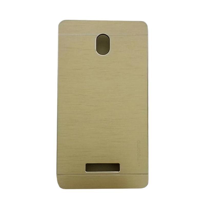 Motomo Metal Hardcase Backcase Casing for OPPO Yoyo or R2001 - Gold