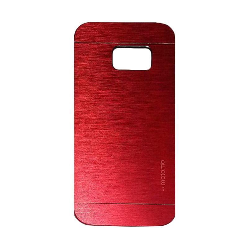 Motomo Metal Hardcase Backcase Casing for Samsung Galaxy S7 - Red