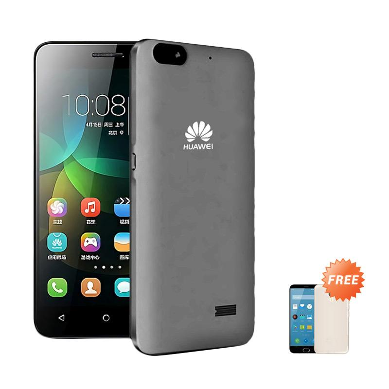 Ultrathin Casing for Huawei Honor 4c - Grey Clear + Free Ultra thin