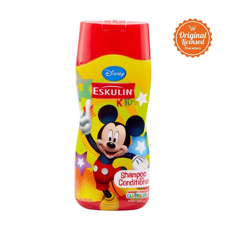 Eskulin Kids Disney Mickey Mouse Shampoo & Conditioner [200 ml]