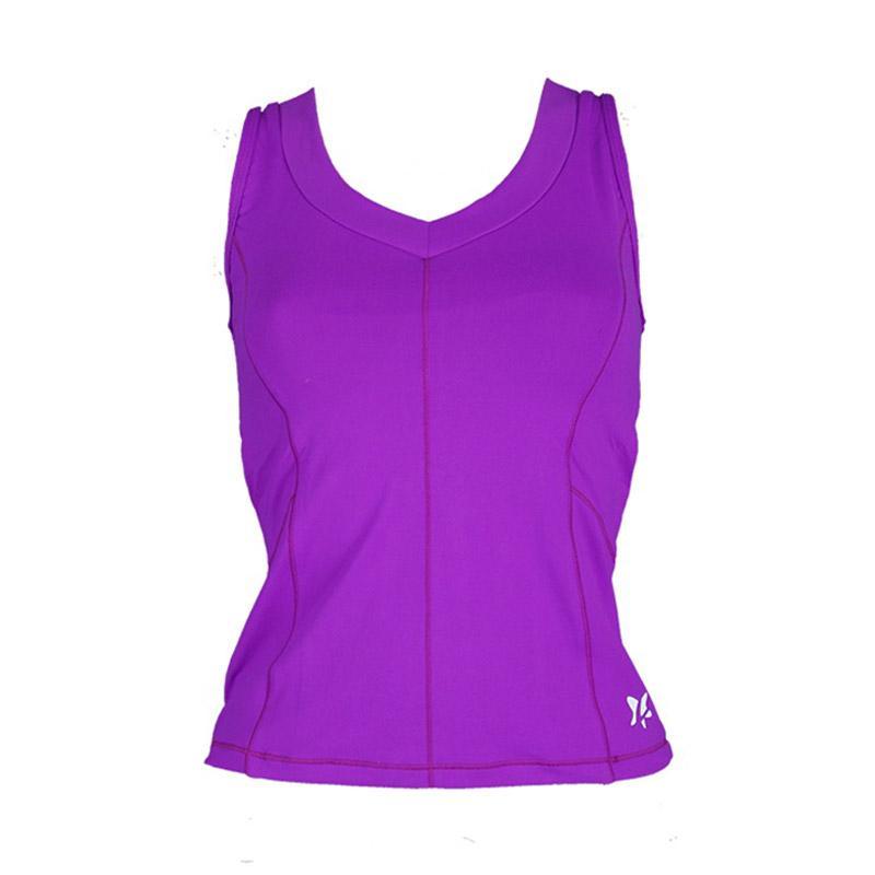 harga Lasona BRP-2828-S Premium Baju Atasan Panjang Senam Wanita - DPurple1 Blibli.com