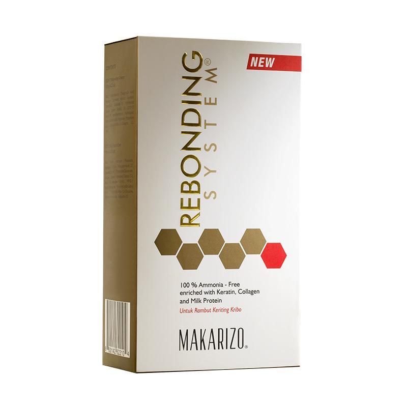 harga FBO50 - Makarizo Rebonding System SG Tube Set [120 g] + Free After