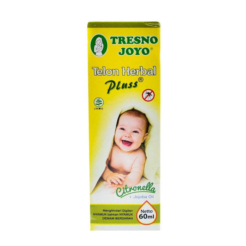 Tresno Joyo Minyak Telon Herbal Plus Citronella [60 mL]