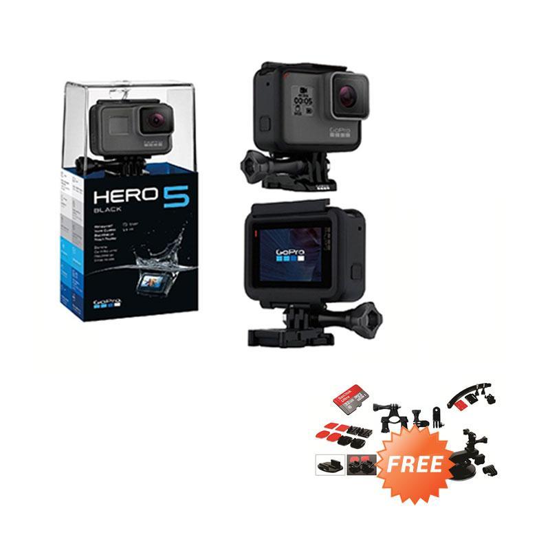 GoPro HERO5 Action Camera - Black [Paket Motorsport]