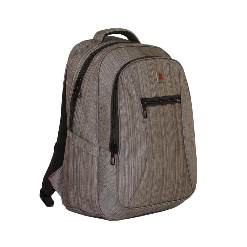 Polo Carion 730065 Ransel Laptop - Coklat [30 l/ Raincover]