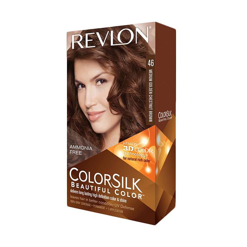 Revlon ColorSilk Hair Color - Medium Golden Chestnut Brown
