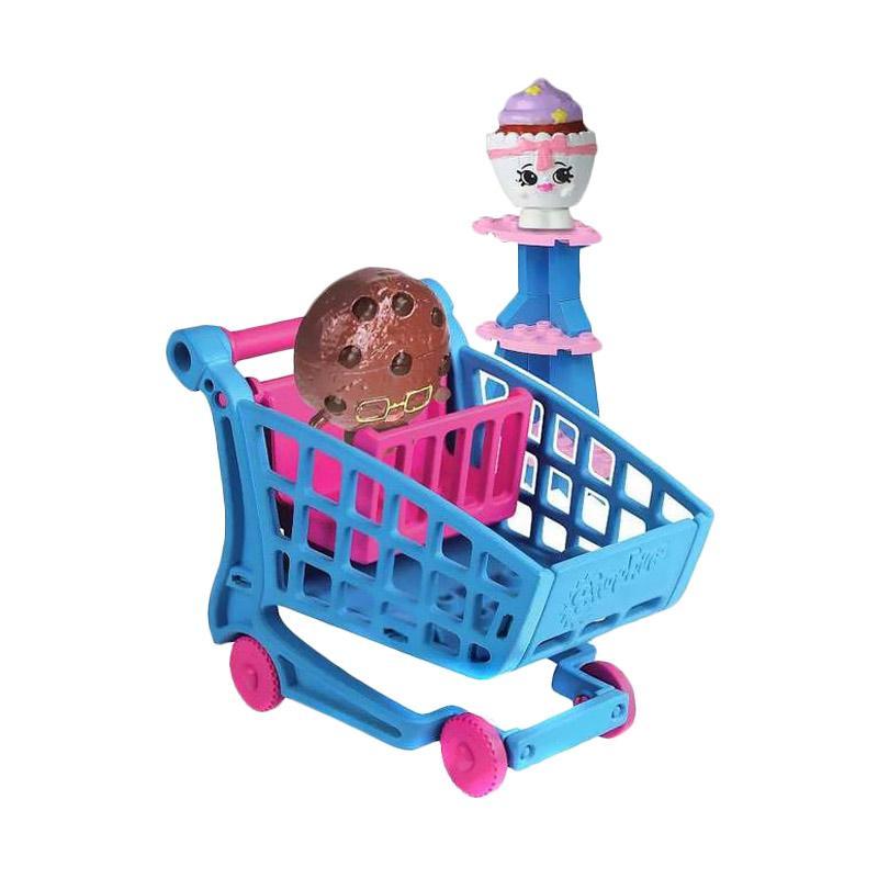 Shopkins Kinstructions Shopping Cart Brick Mainan Anak