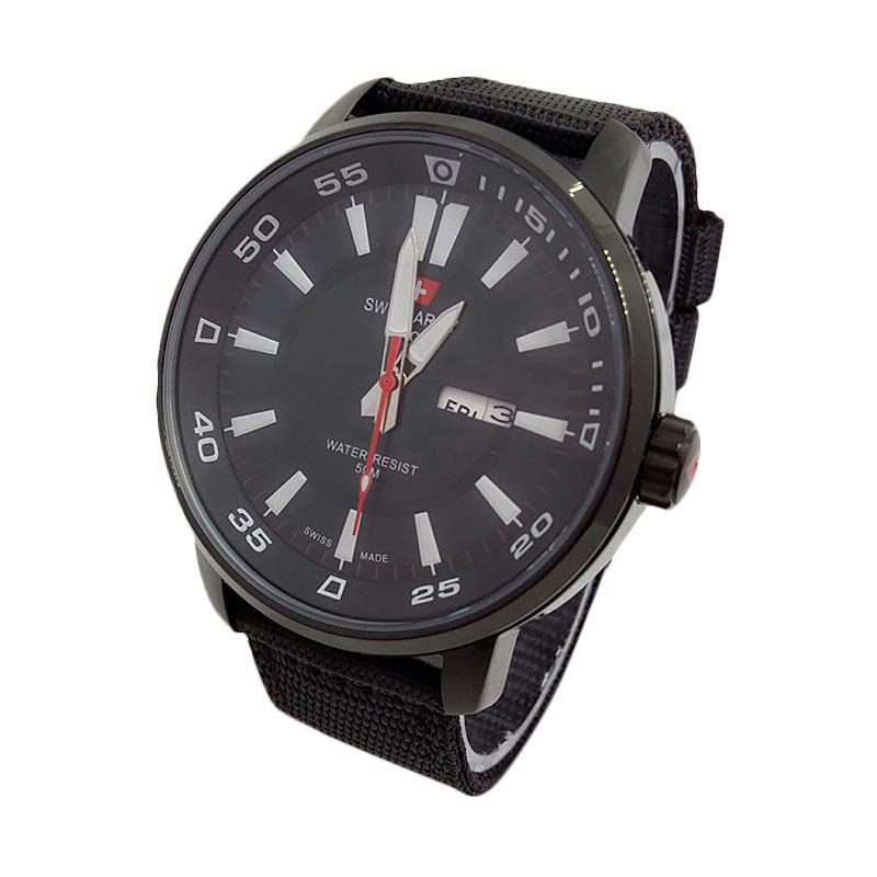 Swiss Army SA3095FB Sporty Strap Canvas Jam Tangan Pria
