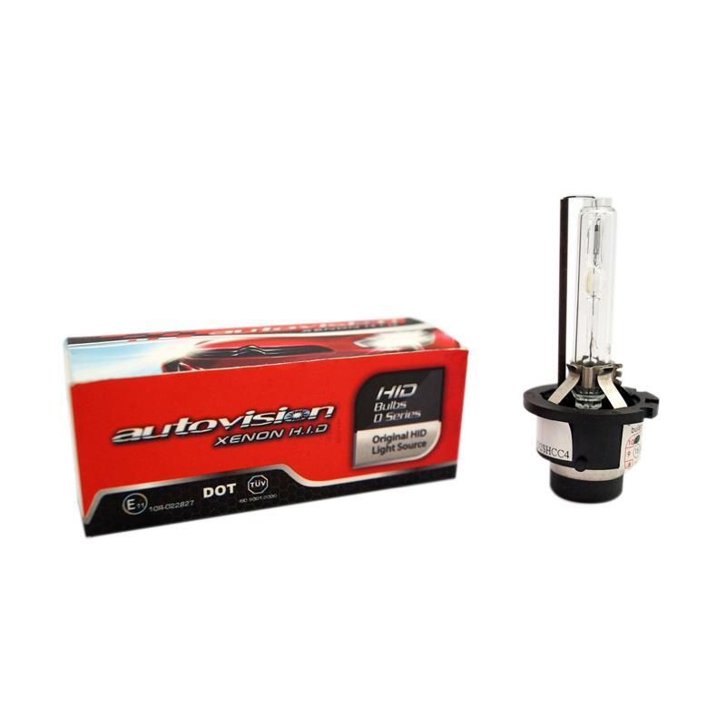 Autovision D4S Xenon Bulb HID Carbon Bohlam Lampu [12 V/35 W/4300 K]
