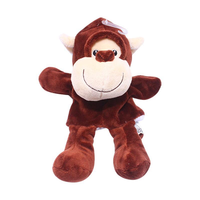 Istana Kado IKO00751 Hand Doll Binatang Monkey Animal Boneka Tangan
