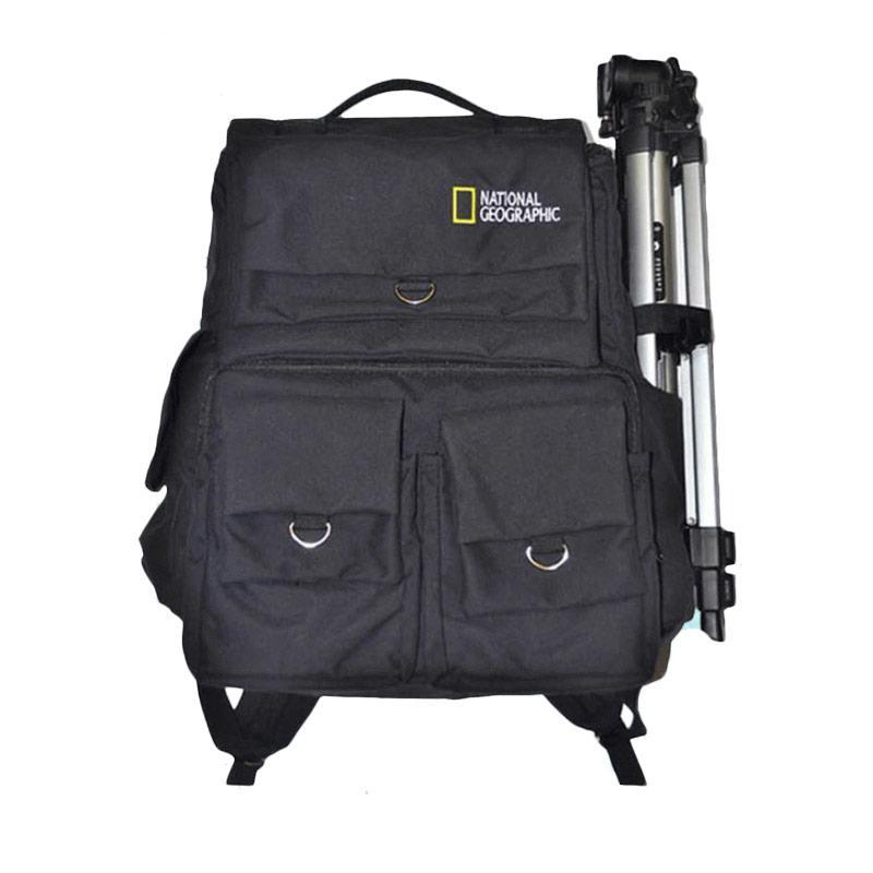 National Geographic Kode F Tas Kamera Hitam Free Rain Cover