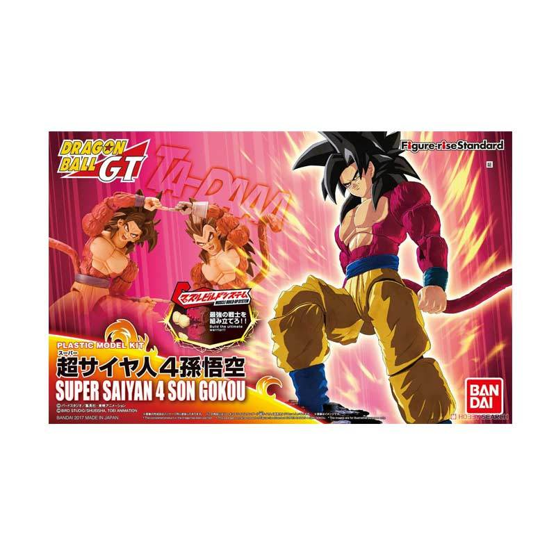 Bandai Figure-rise Standard Super Saiyan 4 Son Goku Action Figure