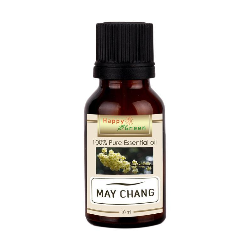 Happy Green May Chang Essential Oil Minyak Litsea Cubeba [10 mL]