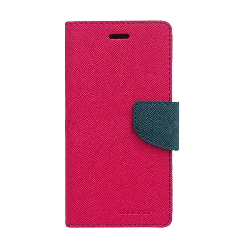 Mercury Fancy Diary Casing for Samsung Galaxy S7 N935 - Magenta Biru Laut