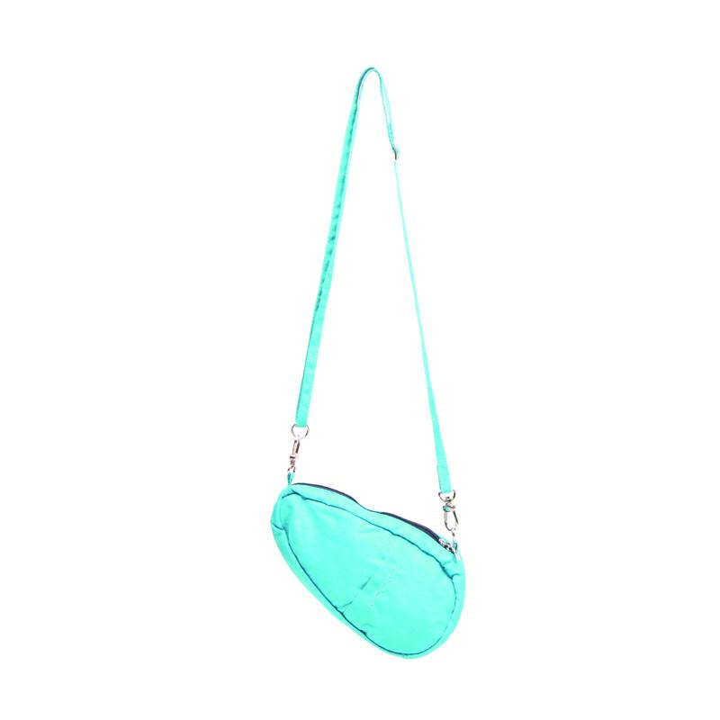 Mockup BSL.02 Mini Bean Sling Bag Tas Wanita - Light Blue Turquise