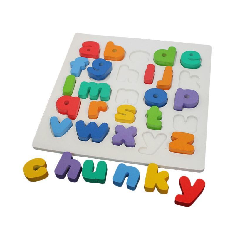 Atham Toys Chunky Huruf Kecil Puzzle