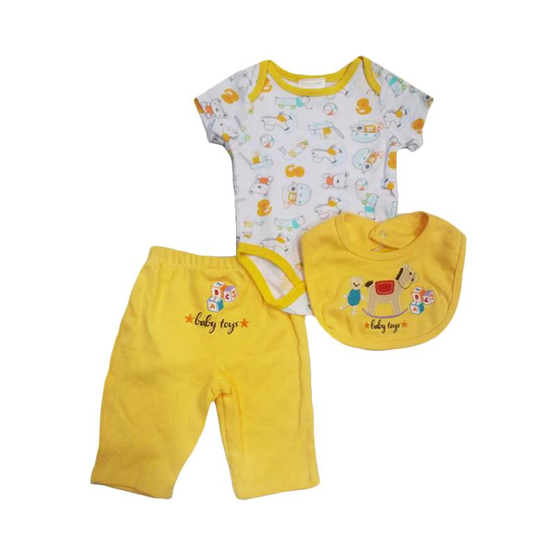 Chloebaby Shop F936 Carter's Baby Toys Jumper 3in1 - Yellow