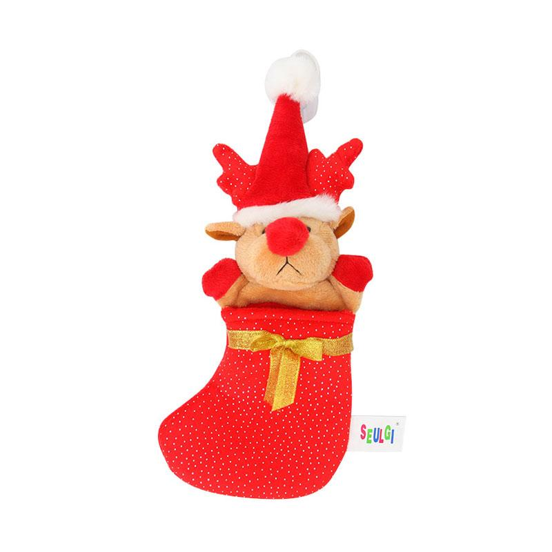 harga Istana Kado IKO00629 Rusa Santa Christmas Kaos Kaki Hiasan Natal Blibli.com
