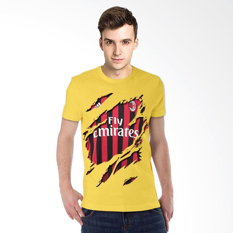 T-Shirt Glory Kaos 3D AC Milan Jersey Kaos Pria - Kuning Extra diskon 7% setiap hari Extra diskon 5% setiap hari Citibank – lebih hemat 10%