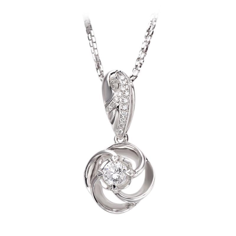 Tiaria DAKADZ006 Lionton Perhiasan Emas Putih [18K]