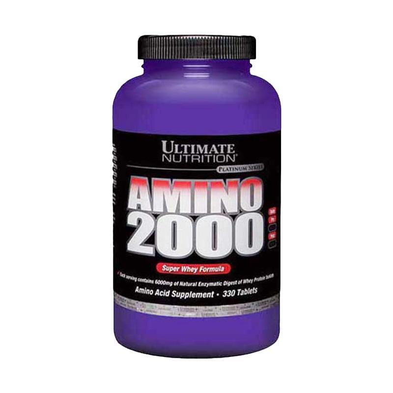 Ultimate Nutrition Amino 2000 Suplemen [330 Tablet]