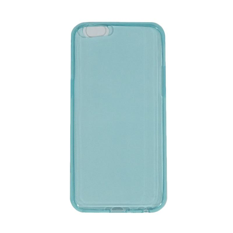 VR Ultrathin Silicone Jellycase Softcase Casing for Oppo A57 - Blue