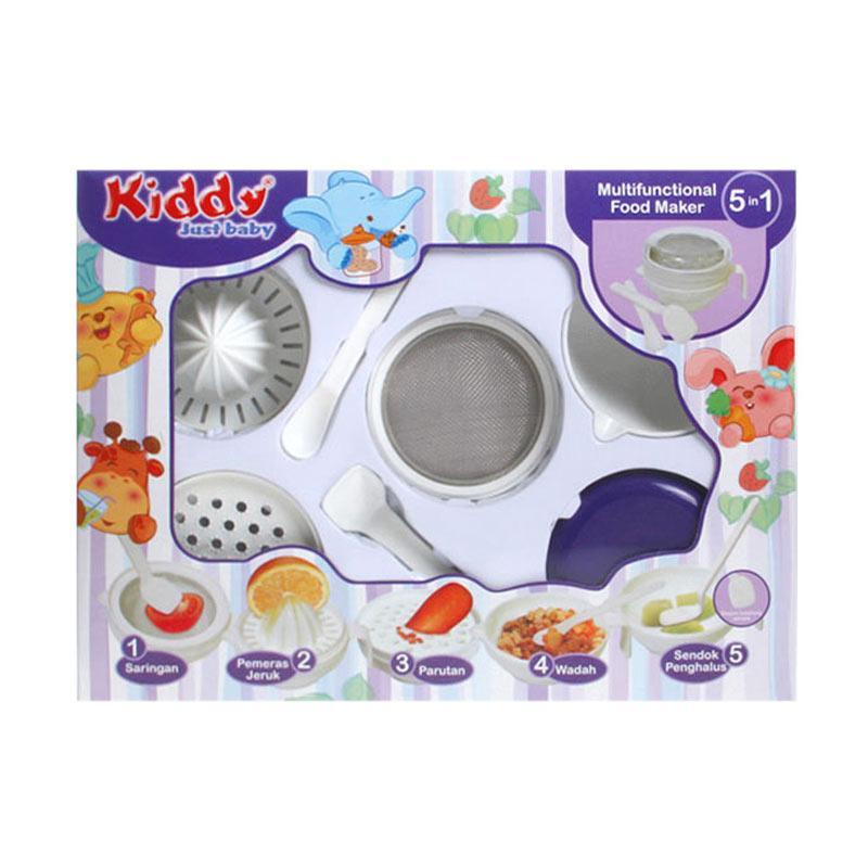 Kiddy 5in1 Multifunctional Baby Food Maker Perlengkapan Makan Bayi