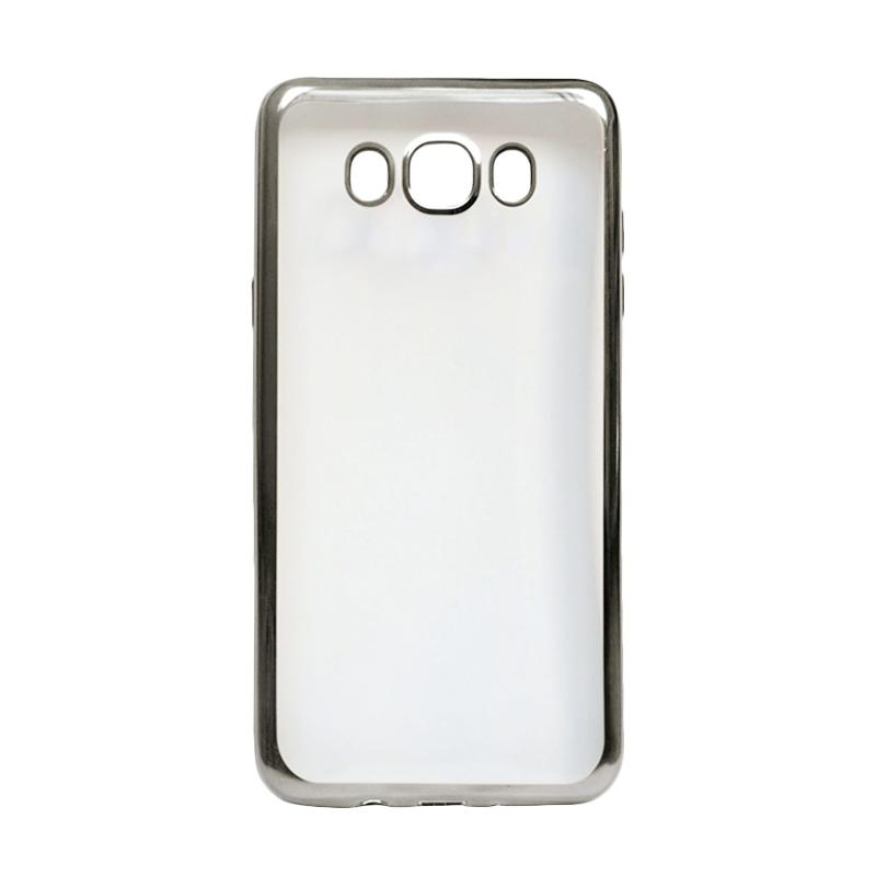 Ultrathin iPhoria Shining Casing for Samsung A3 A300 - Silver