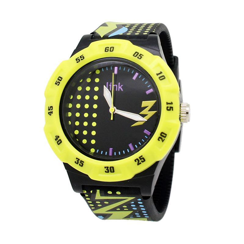 Linkgraphix Sports PSM02 Bolt Jam Tangan Unisex - Hitam
