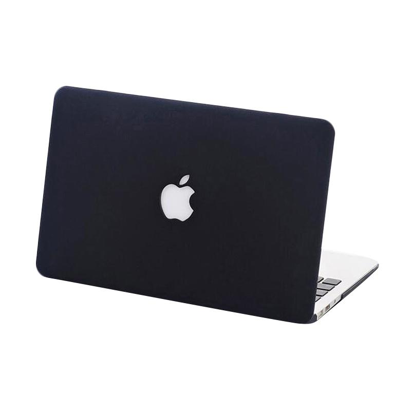 harga Mine Mac Crystal Casing for Macbook Pro 13 Inch 2016 with Cut Out - Black Blibli.com