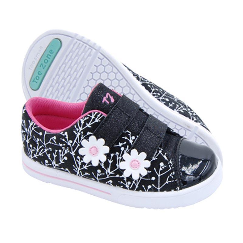 Toezone Kids Audra Ch Sepatu Anak Perempuan - Black Floral