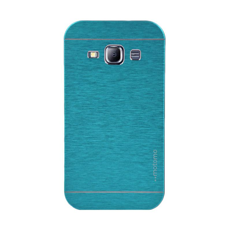 Motomo Metal Hardcase Casing for Samsung Galaxy J1 J100F - Sky Blue