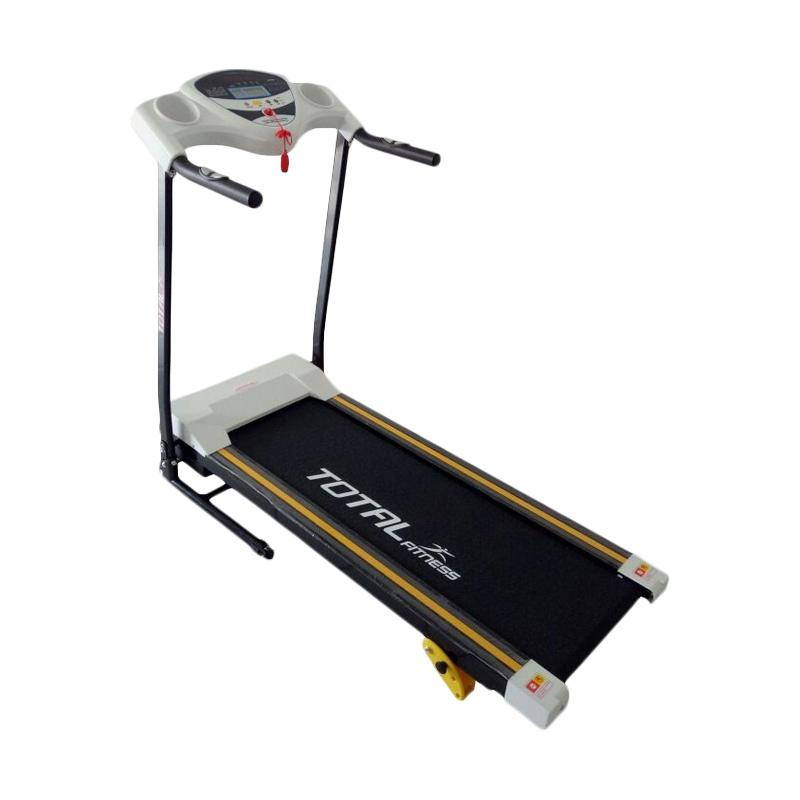 Total Fitness 1 Fungsi TL-626 Treadmill Elektrik - Putih