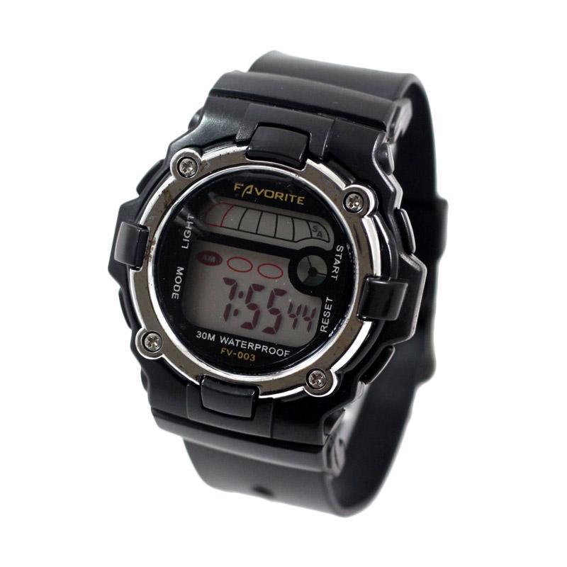 Fastime FV - 003 Jam Tangan Unisex - Black