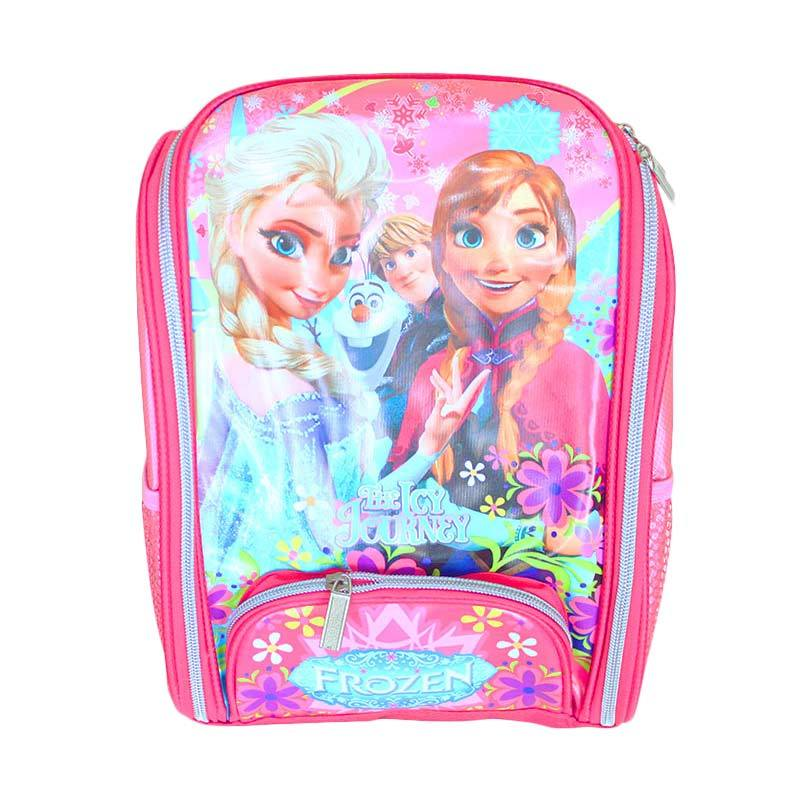 Istana Kado IKO00689 Frozen Tas Ransel Sekolah Anak Medium - Pink