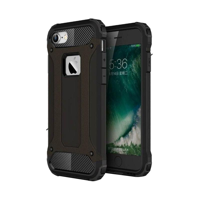 OEM Transformers Iron Robot Hardcase Casing for iPhone 6 4.7 Inch - Black