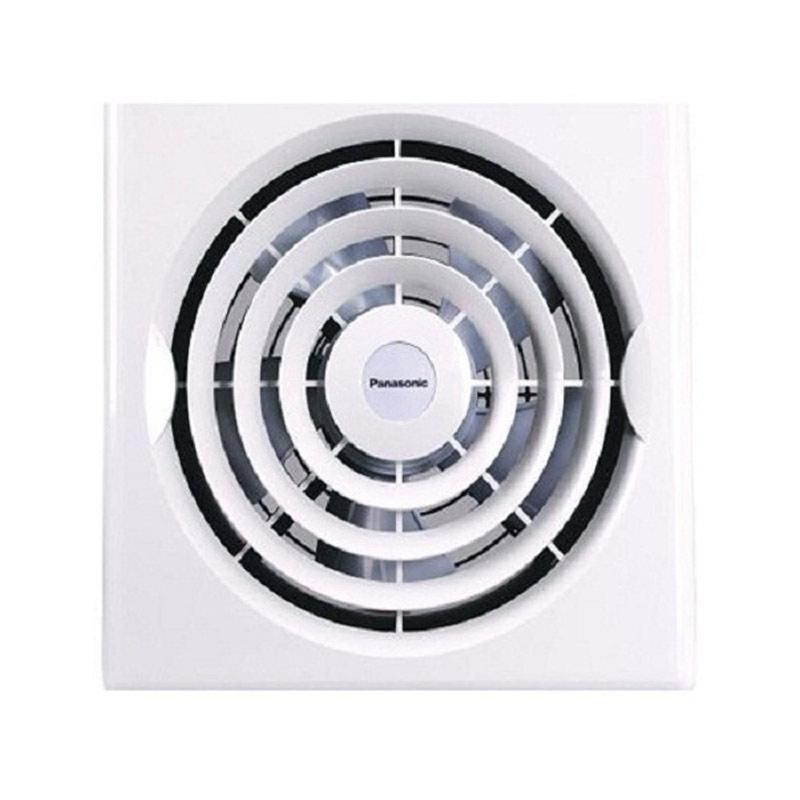 harga Panasonic FV-25TGU Exhaust Fan Ventilasi Dinding - Putih [10 Inch] Blibli.com
