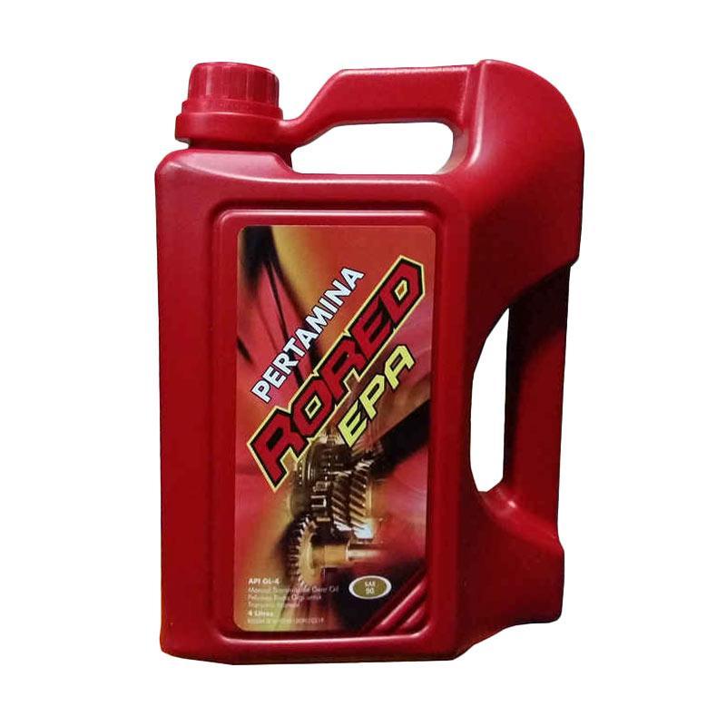 Pertamina Rored EPA 90 API GL 4 Oli Transmisi Gardan Galon Liter