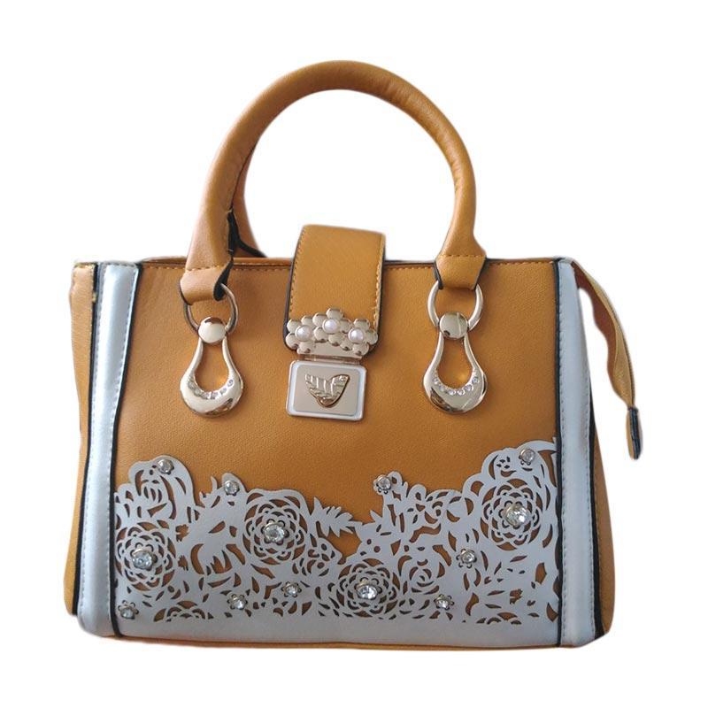 harga Guess Collection Unik Branded Import Hand Bag - Brown Blibli.com