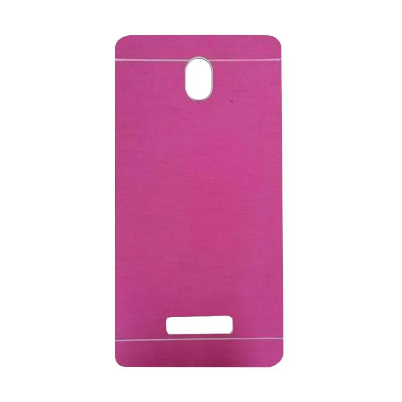 Motomo Metal Hardcase Backcase Casing for OPPO Yoyo or R2001 - Pink