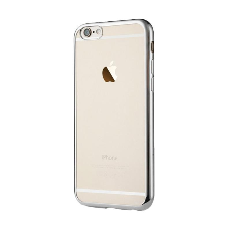 OEM Ultrathin TPU Shining Chrome Casing for iPhone 5 or 5S - Silver