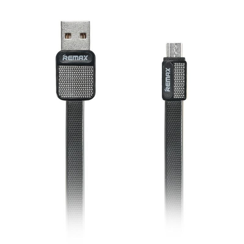 Remax Platinum Original Micro USB Fast Charging and Data Cable - Black