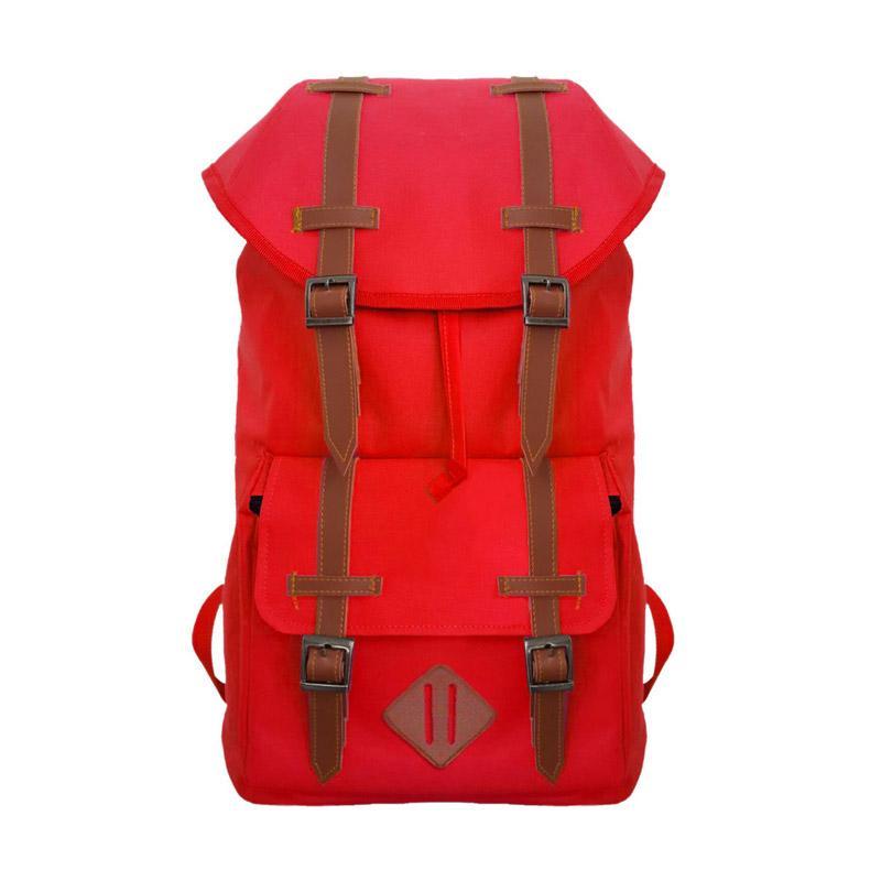 Bag & Stuff Madagascar Tas Ransel Outdoor Gunung Pria - Merah