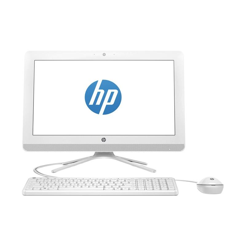 HP 20-C013D PC All In One - Putih [Intel Celeron Dual Core J3060/ 4GB/ 500GB/ 19.45 Inch/ Windows 10]