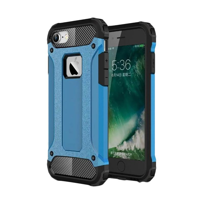 OEM Transformers Iron Robot Hardcase Casing for iPhone 6 4.7 Inch - Blue