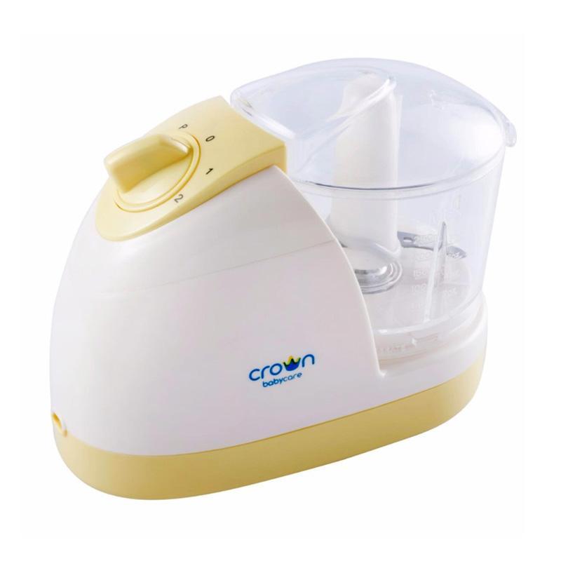 Crown Easy Blend Multi Mini Chopper Blender Makanan Bayi - Kuning
