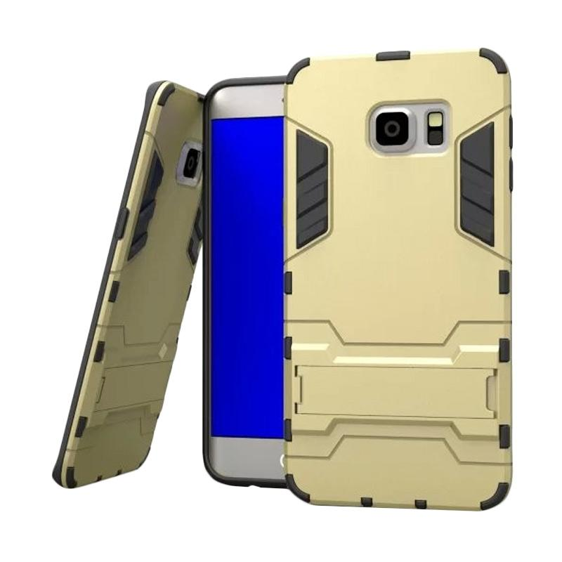 OEM Transformer Robot Iron Man Casing for Samsung Galaxy S6 - Gold