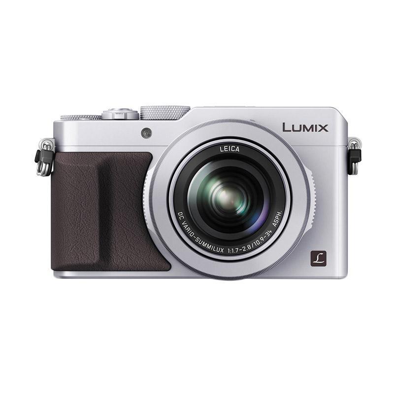 Panasonic LX100 4K Kamera - Silver + Extra Battery + Case - 9290585 , 15495917 , 337_15495917 , 8599000 , Panasonic-LX100-4K-Kamera-Silver-Extra-Battery-Case-337_15495917 , blibli.com , Panasonic LX100 4K Kamera - Silver + Extra Battery + Case