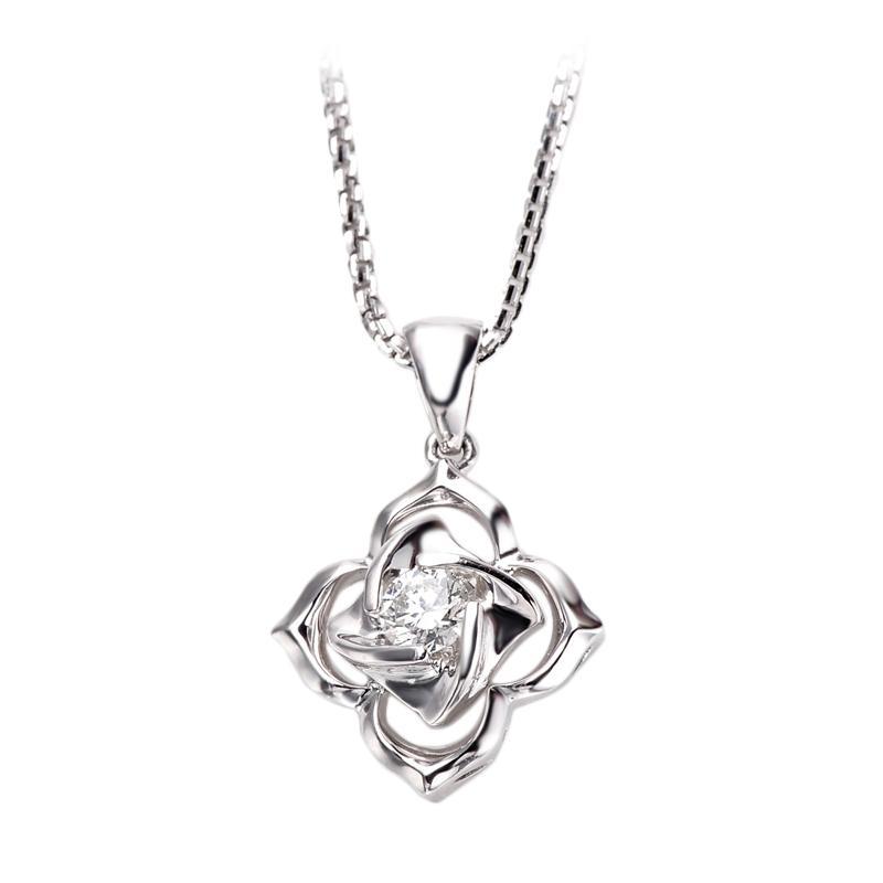 Tiaria DJXDZ011 Lionton Perhiasan Emas Putih [18K]